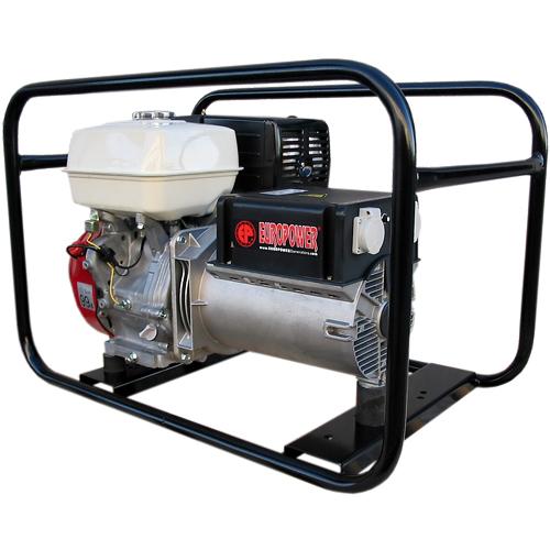 Генератор бензиновый Europower EP 6500 T 3X230V для ж/д в Белозерске