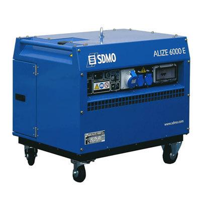 Генератор SDMO ALIZE 6000 E в Белозерске