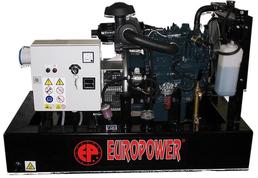 Генератор дизельный Europower EP 30 DE в Белозерске