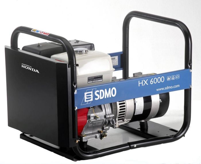 Генератор SDMO HX 6000-S в Белозерске